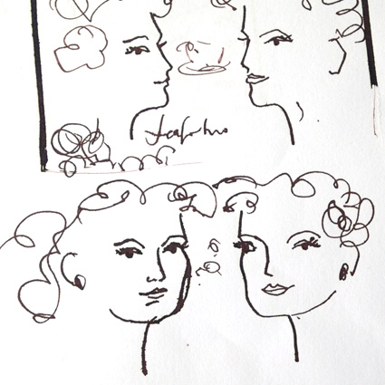© Gabriella Buckingham - tiny rough sketches